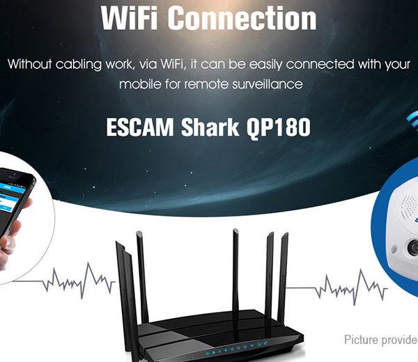 IP 3MP WiFi Panoranic 360