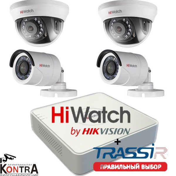 TRASSIR для DVR/NVR HiWatch на 4/8/16/24 канала