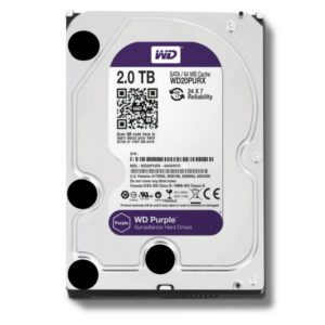 HDD Western Digital WD Purple 2 TB (WD10PURX) 3.0 WD20PURX