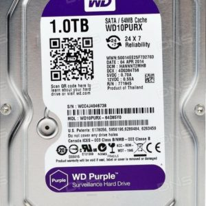 HDD Western Digital WD Purple 1 TB (WD10PURX) 3.0